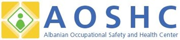 Albanian Occupational Safety and Health Center AOSHC logo.jpg