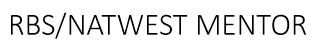RBS Natwest Mentor logo