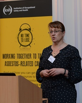 Speaker at No Time to Lose Asbestos launch